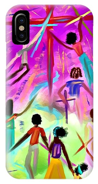 People Of The Cross IPhone Case