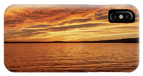 Percy Priest Lake Sunset IPhone Case