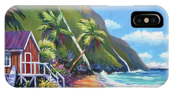 Oahu Hawaii iPhone Case - Perfect Day by John Clark
