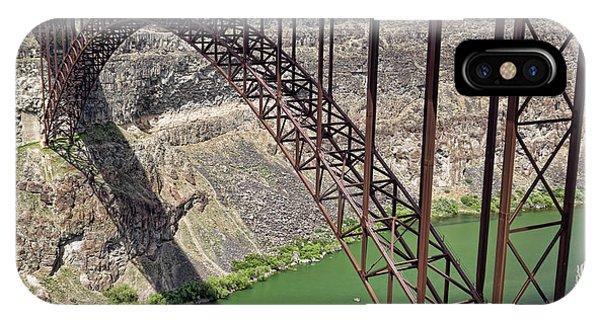 Perrine Bridge, Twin Falls, Idaho IPhone Case
