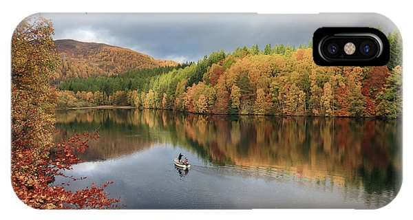 IPhone Case featuring the photograph Perthshire Autumn by Grant Glendinning