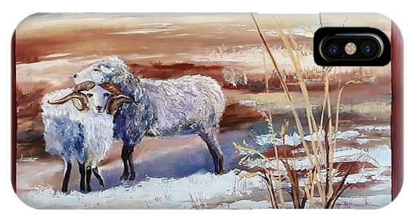 Phil And Alice Navajo Sheep    38 IPhone Case