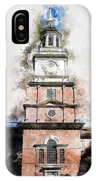 Philadelphia Independence Hall - 01 IPhone Case