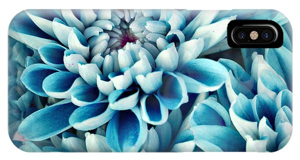 Space iPhone Case - Photo Illustration Of Abstract Flower by Annmarie Young