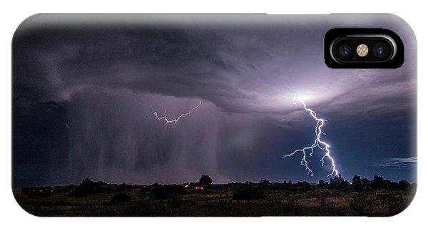 Thunderstorm #3 IPhone Case