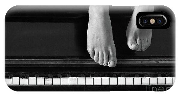Piano #0215az IPhone Case