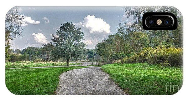 Pickerington Ponds Walkway IPhone Case