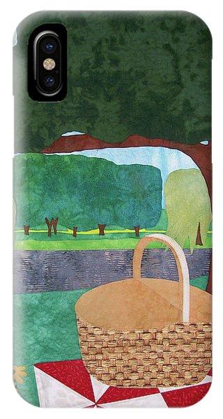 Picnic At Ellis Pond IPhone Case