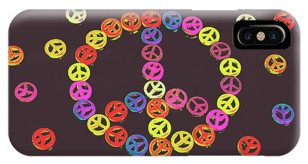 Pop-culture iPhone Case - Pieces Of Peace by Jorgo Photography - Wall Art Gallery