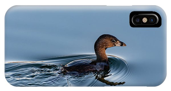 Pied-billed Grebe IPhone Case