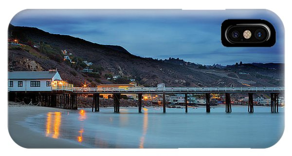 Pier House Malibu IPhone Case