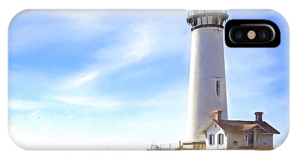 Pigeon Point Lighthouse Ca IPhone Case
