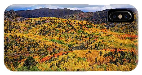 Pikes Peak Autumn IPhone Case
