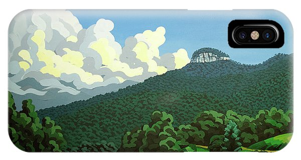 Pilot Mountain - Summer IPhone Case