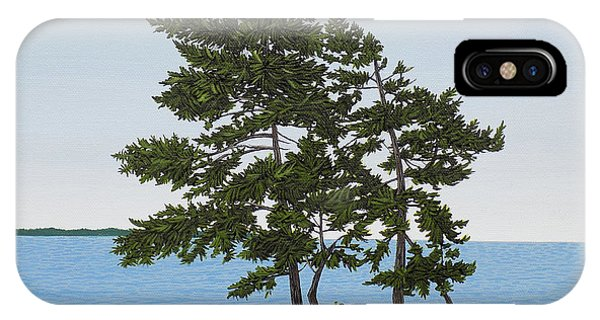 Pine On The Point IPhone Case