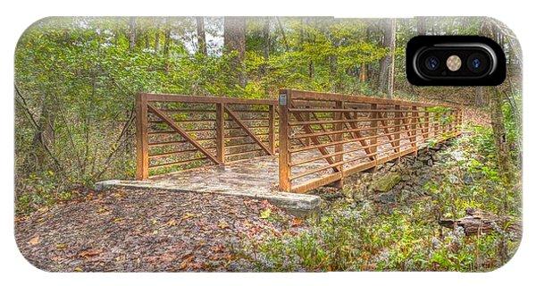 Pine Quarry Park Bridge IPhone Case