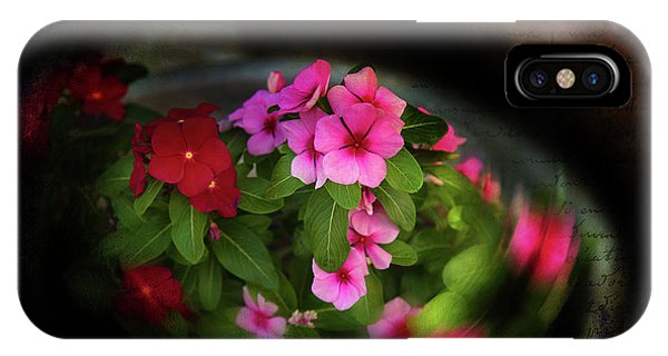 IPhone Case featuring the photograph Pink And Red by Milena Ilieva