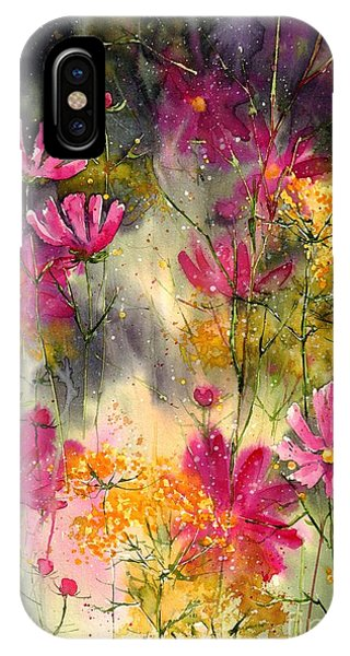 Colorful Flowers iPhone Case - Pink Ballerinas by Suzann Sines