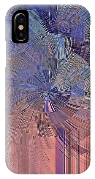Pink, Blue And Purple IPhone Case