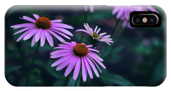 Pink Echinacea IPhone Case