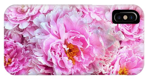 Pink Flowers Everywhere IPhone Case