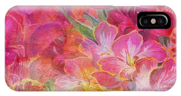 Hibiscus Flower iPhone Case - Pink Hibiscus by ArtMarketJapan
