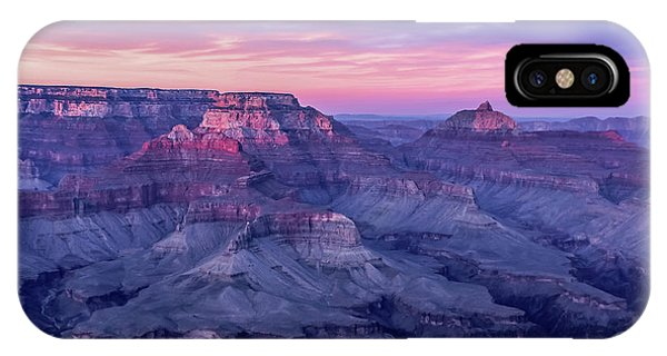 Pink Hues Over The Grand Canyon IPhone Case