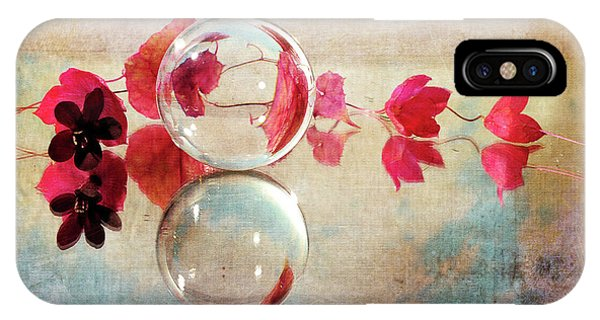 IPhone Case featuring the photograph Pink Line by Randi Grace Nilsberg