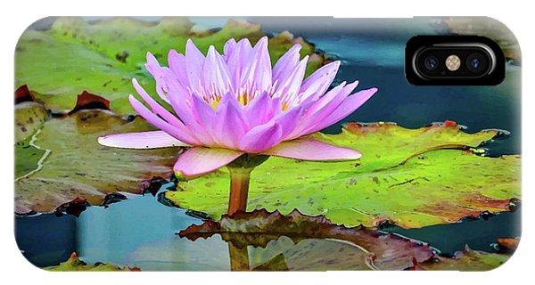 Pink Lotus IPhone Case