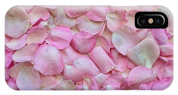 Pink Rose Petals IPhone Case