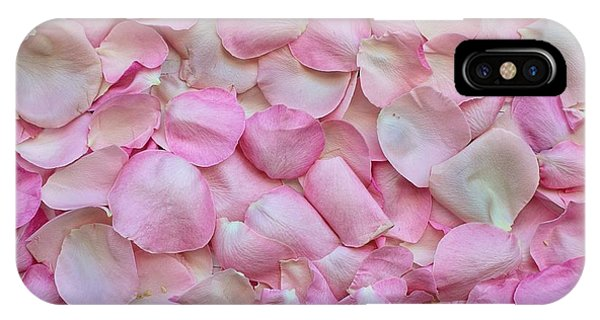 Pink Rose Petals IPhone Case