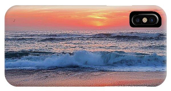Pink Sunrise Panorama IPhone Case