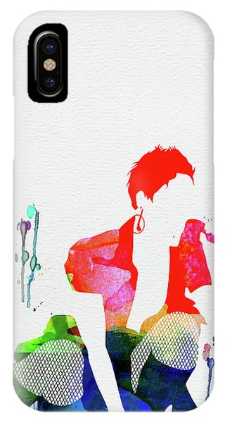 Pink iPhone Case - Pink Watercolor by Naxart Studio