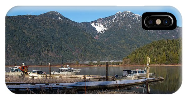 Pitt Lake Winterimpression IPhone Case