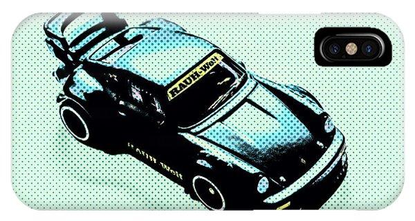 iPhone Case - Pixel Porsche by Jorgo Photography - Wall Art Gallery