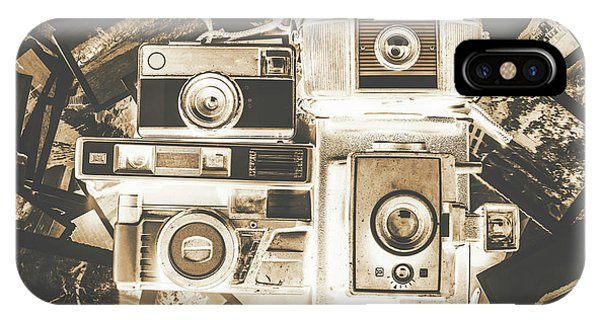 Vintage Camera iPhone Case - Placed In The Dark Room by Jorgo Photography - Wall Art Gallery