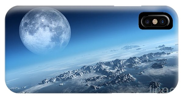 Rocky Mountain iPhone X Case - Planet Earth Icy Ocean And Rocky by Johan Swanepoel