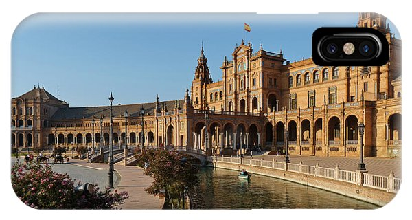 Plaza De Espana Bridge View IPhone Case