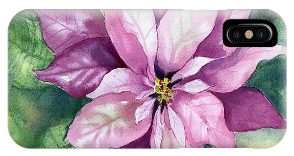 Poinsettia IPhone Case