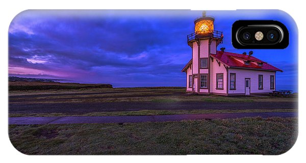 Point Cabrillo Light Station - 3 IPhone Case