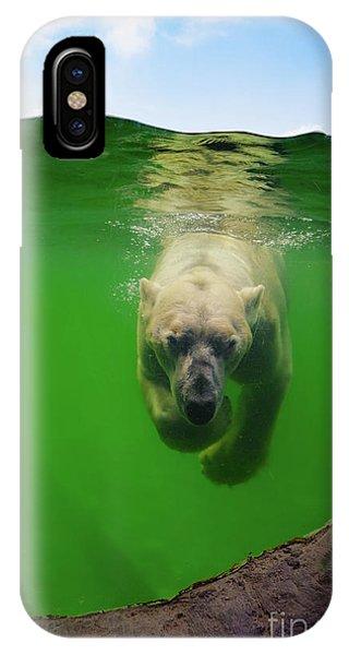 Polar Bear Underwater IPhone Case