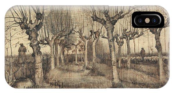 Van Gogh Museum iPhone Case - Pollard Birches by Vincent Van Gogh