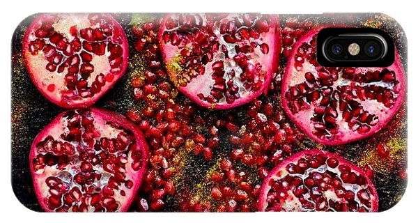 Pomegranate New Year IPhone Case