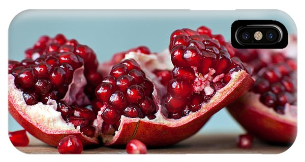 Eating iPhone Case - Pomegranate by Orlio