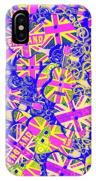 Punk Rock iPhone Case - Pommy Pop Rock by Jorgo Photography - Wall Art Gallery