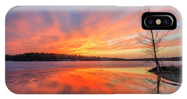 Pond Ablaze IPhone Case