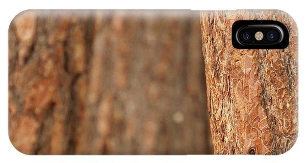 Ponderosa Pine Bark Detail IPhone Case