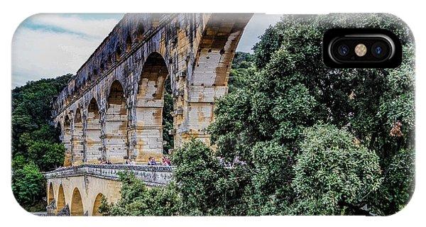 Pont Du Gard IPhone Case