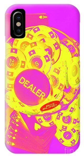 Martini iPhone Case - Pop Art Poker by Jorgo Photography - Wall Art Gallery