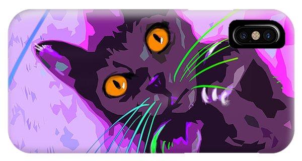 Pop Cat Angel IPhone Case
